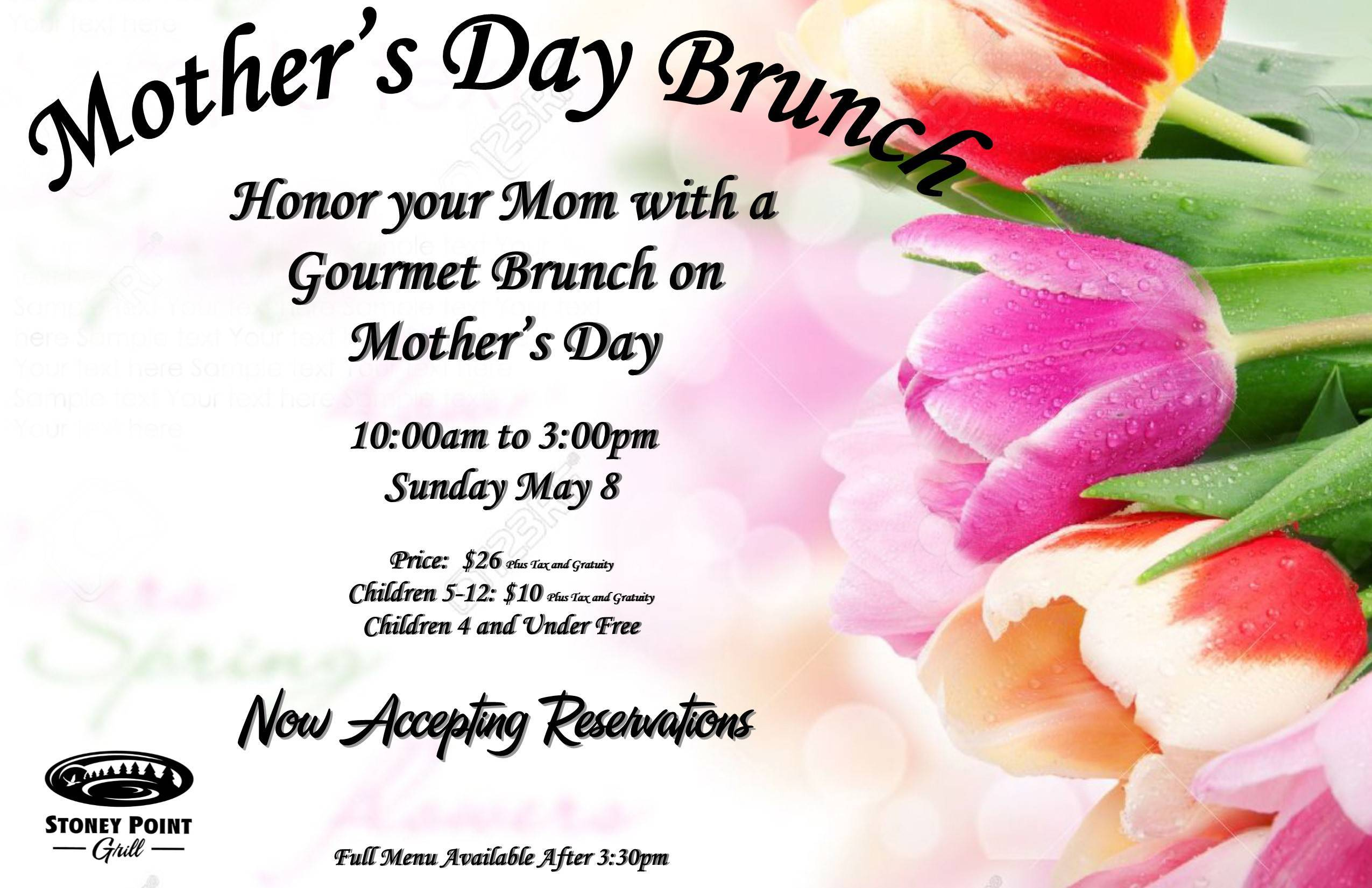 Mother's Day 2016 Flyer